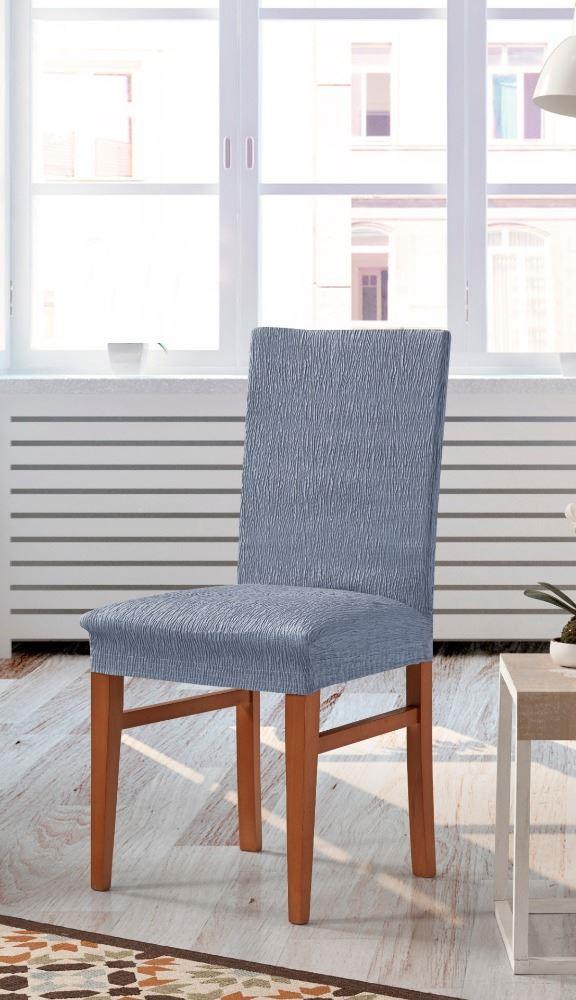 Funda de silla con respaldo beta casaytextil for Sillas con respaldo