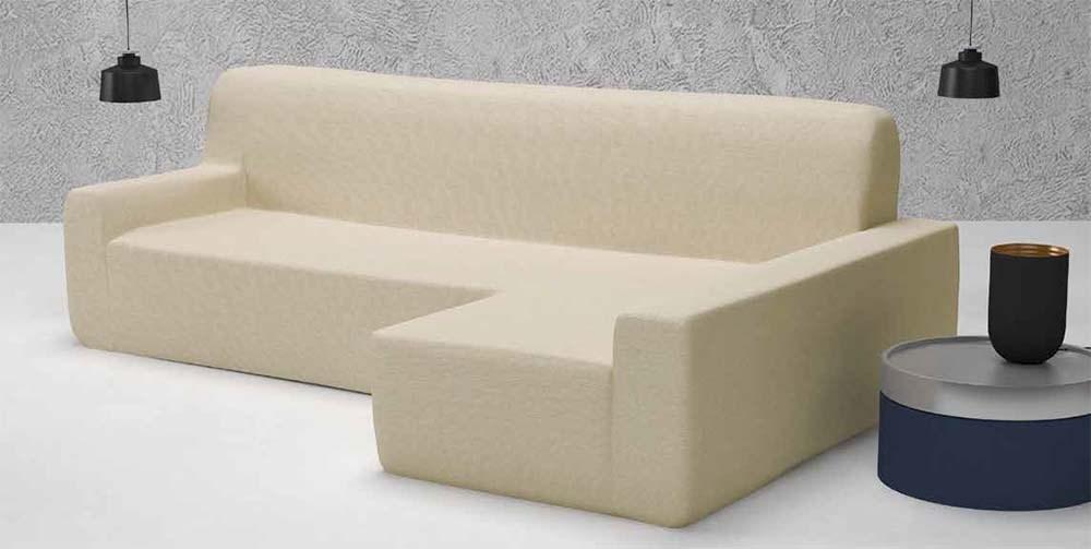 Funda de sof chaise longue alaska casaytextil - Funda de sofa chaise longue ...
