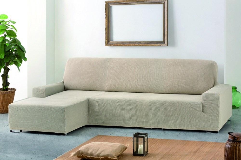 Funda de sof chaise longue brazo corto cora eysa - Funda para sofa chaise longue ...