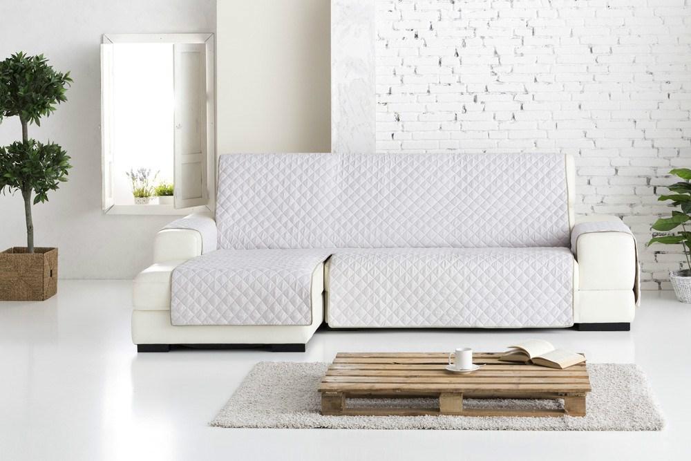 Funda de sof chaise longue dual quilt eysa casaytextil - Fundas para sofas chaise longue ...