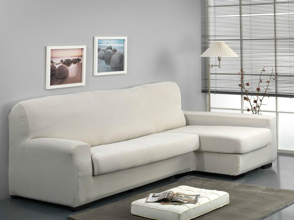 Funda de sof chaise longue separado viena casaytextil - Fundas universales para sofas ...