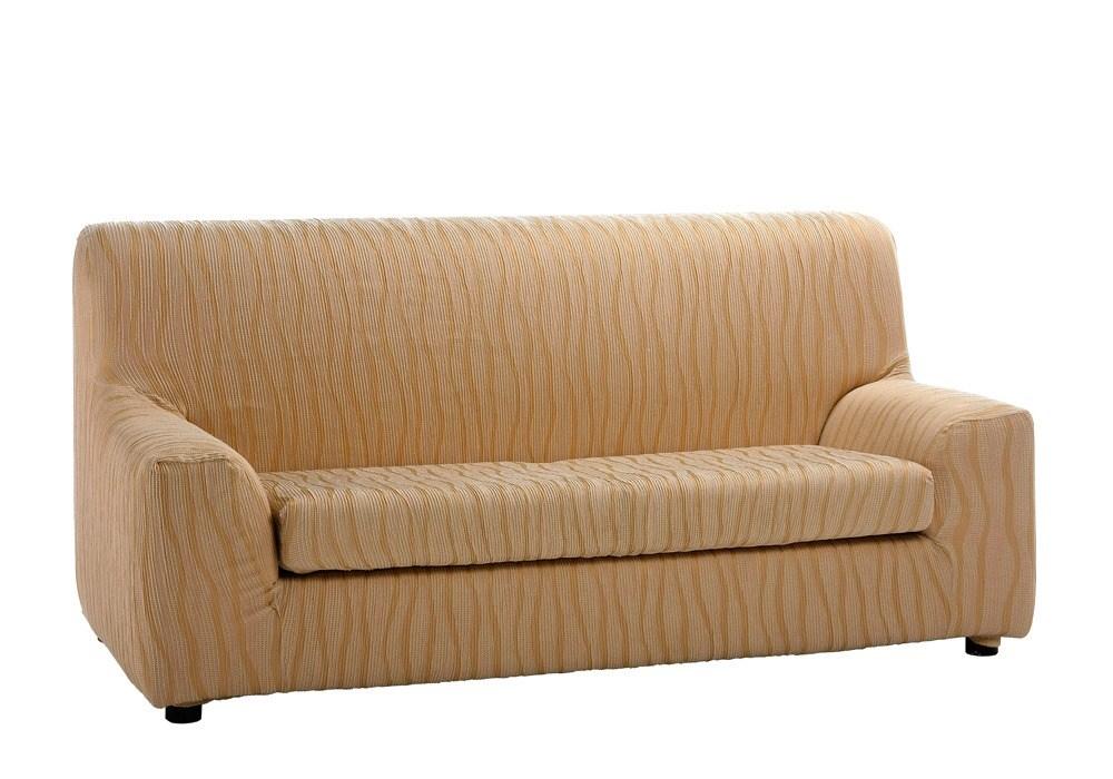 Funda de sof con coj n separado casandra casaytextil for Fundas de sofa gris