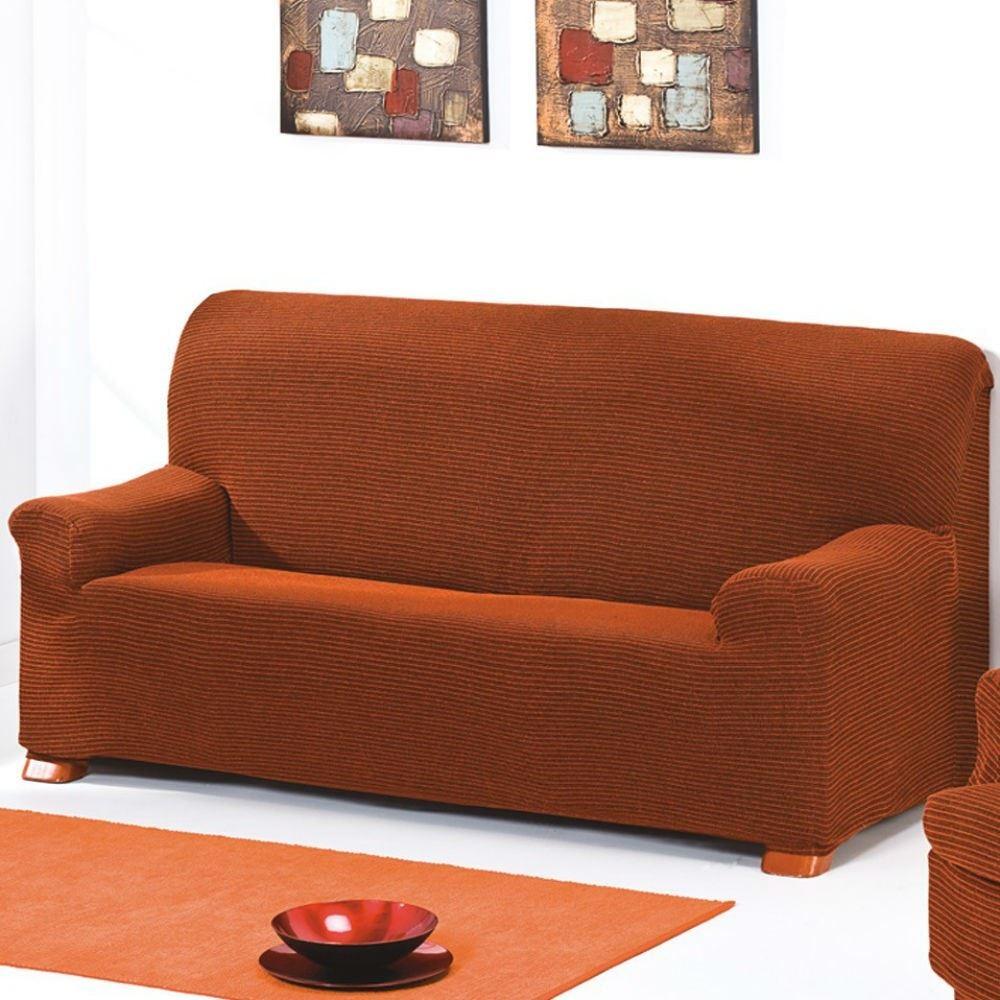 Funda de sof el stica sixto casaytextil - Funda sofa elastica ...