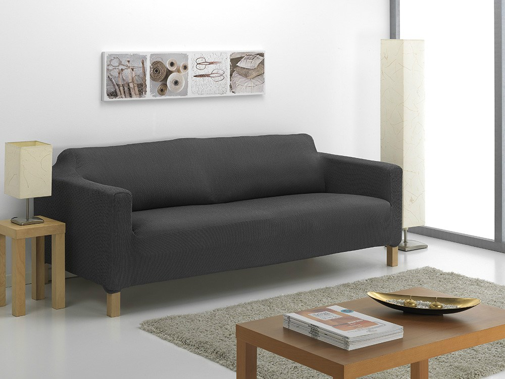 Funda de sof karlstad nature casaytextil for Fundas de sofa gris