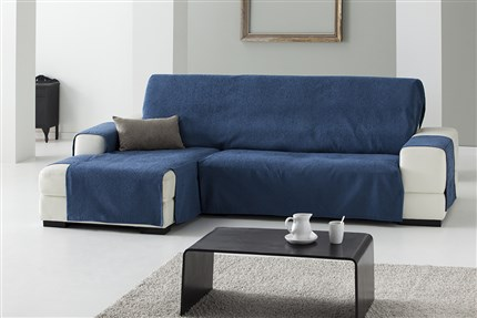 Funda sofa chaise longue casaytexil - Funda de sofa chaise longue ...