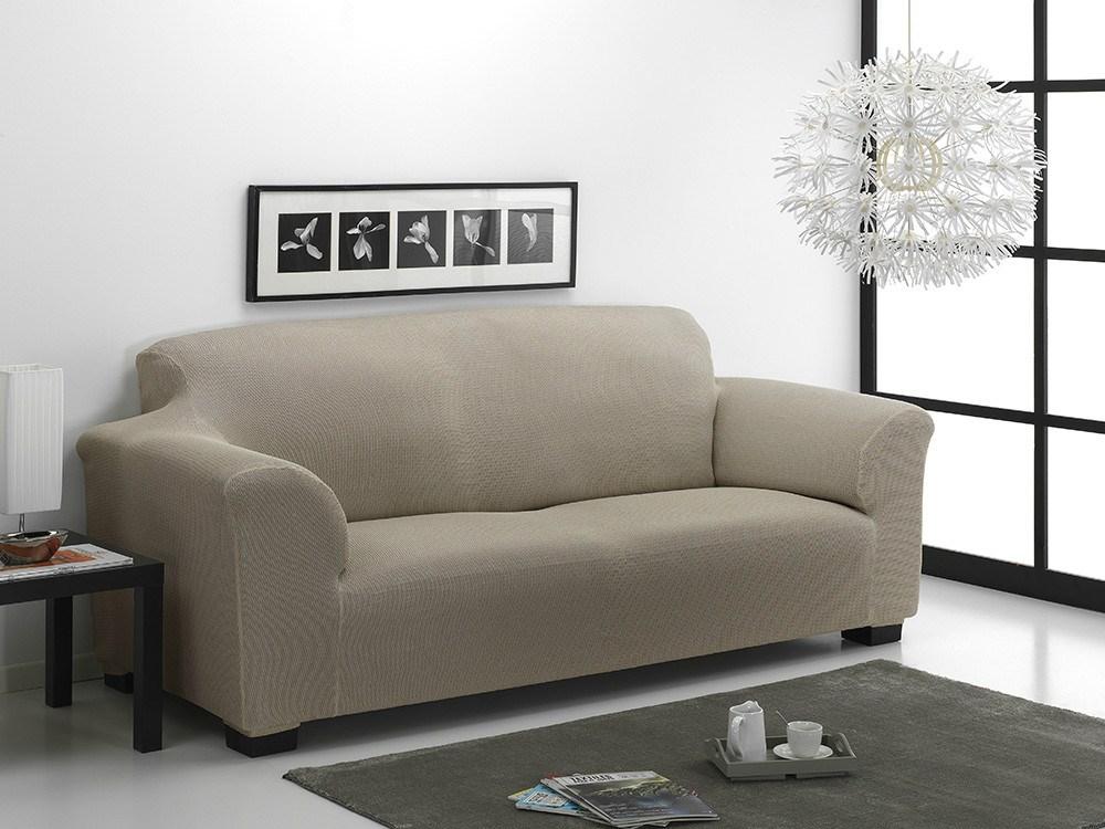 Funda de sof tidafors nature casaytextil for Fundas de sofa gris