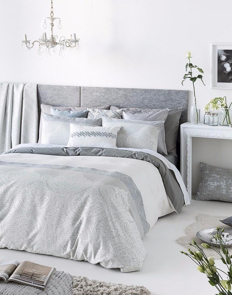 Funda n rdica cloe gris casaytextil for Ikea funda nordica gris
