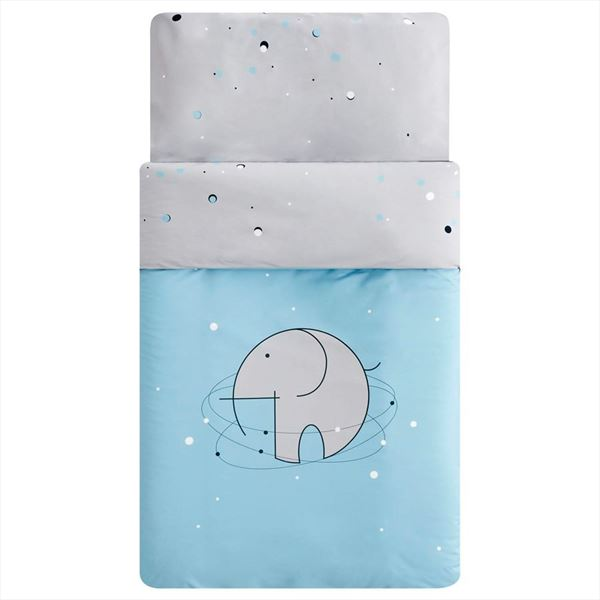 Funda nórdica cuna Bluephant