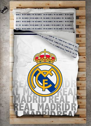 Funda nórdica Emblema Real Madrid | CasayTextil