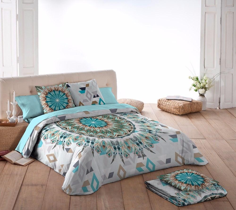 Funda n rdica esma naturals casaytextil for Funda nordica cama 80
