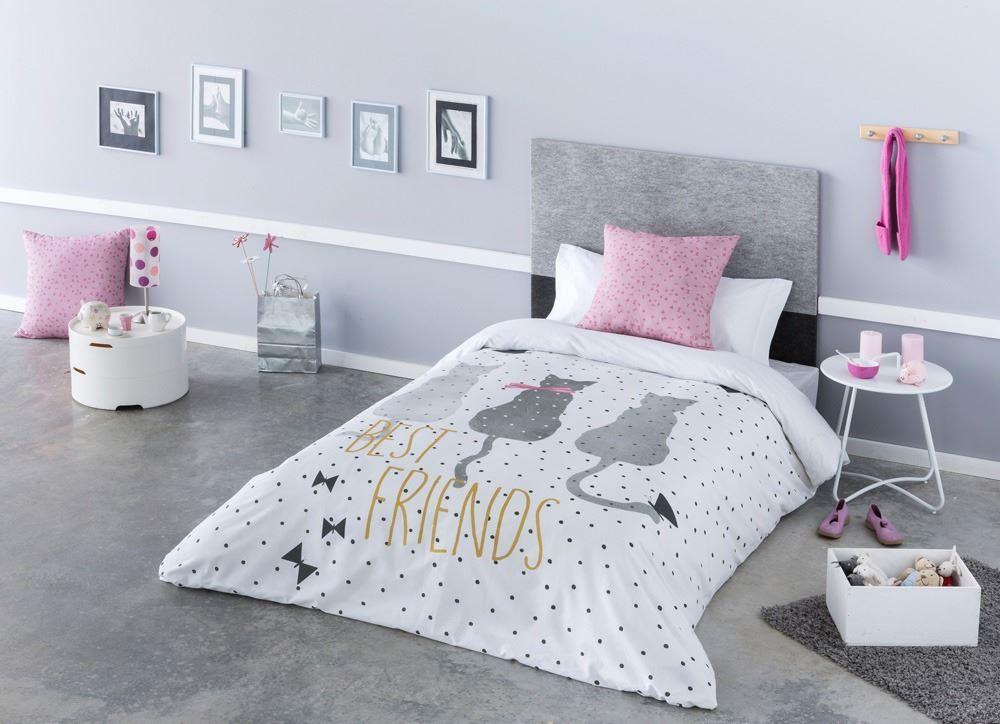 Funda nórdica infantil Cat Ilustrando tus sueños