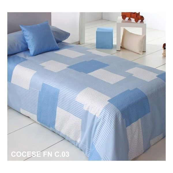 Funda nórdica infantil Cocese Azul c03 Reig Marti