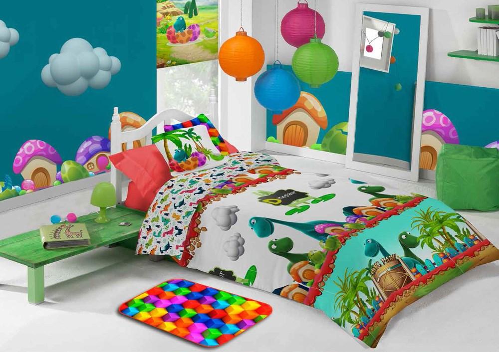 Funda nórdica infantil Junior Dino 587 Manterol | CasayTextil