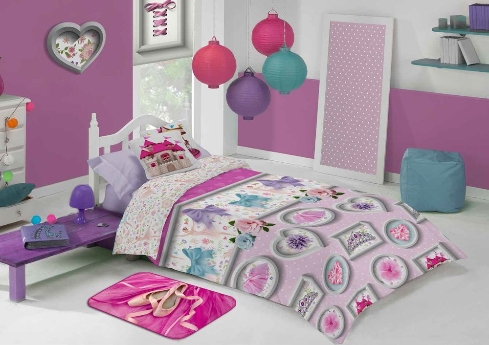 Funda Nordica Infantil Junior Princesa 588 Manterol Casaytextil