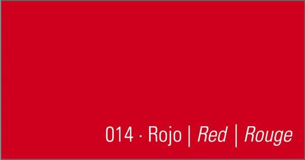 funda nordica roja lisa