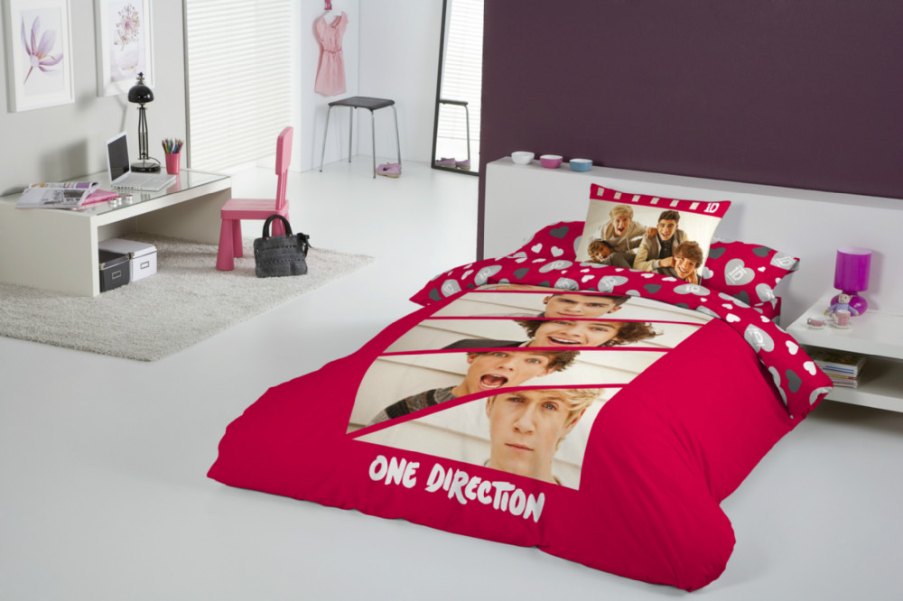 Funda nórdica one direction boyfriend. 1d cama de 90. | CasayTextil