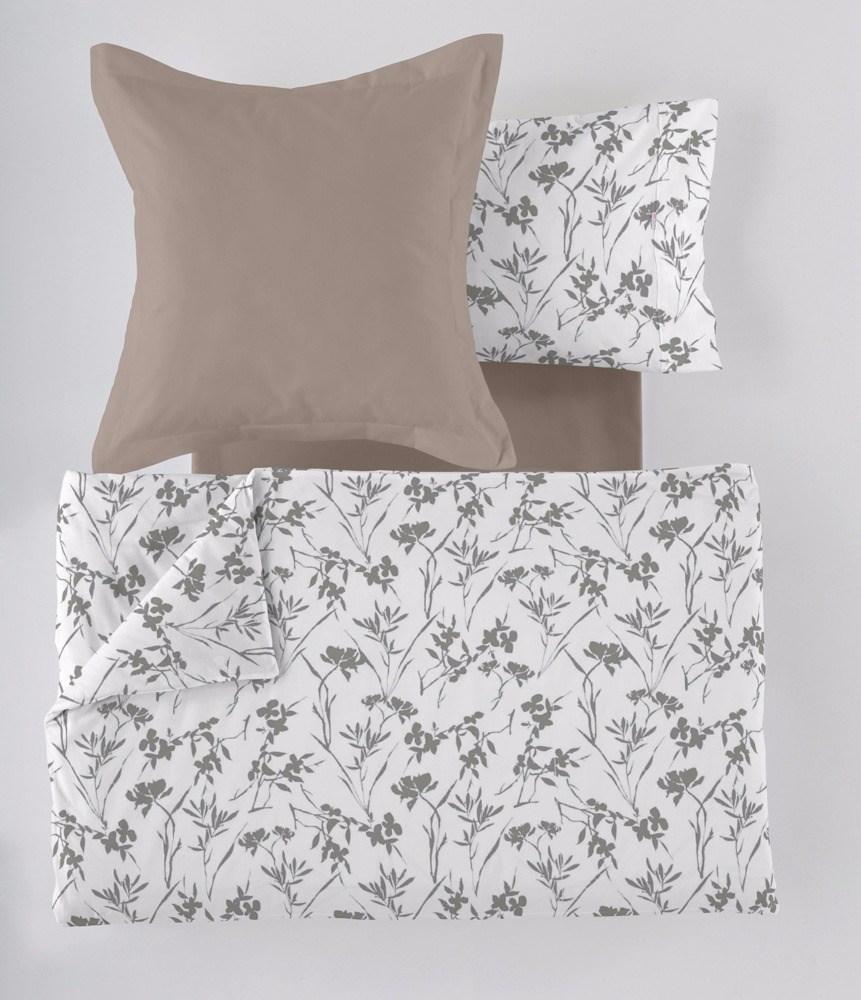 Funda n rdica paola gris casaytextil for Ikea funda nordica gris