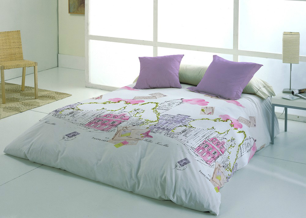 Funda n rdica postal casaytextil for Funda nordica cama 105