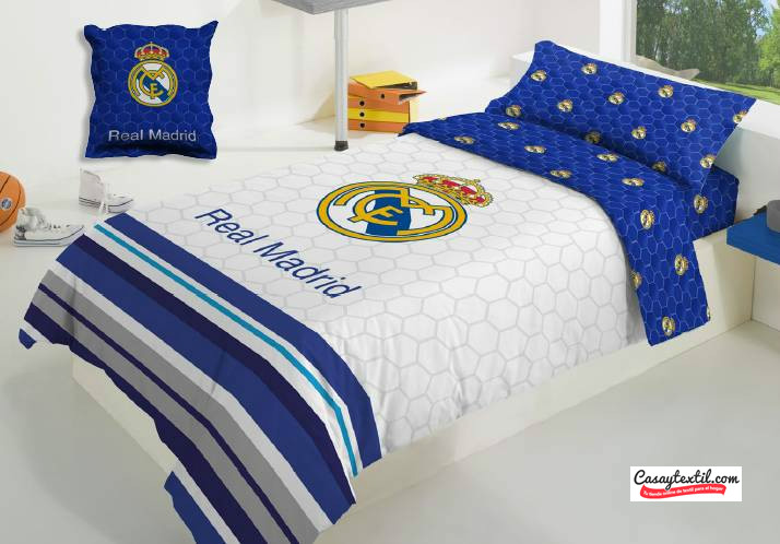 Funda n rdica real madrid 048 manterol casaytextil - Fundas del real madrid ...