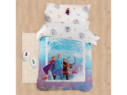 Funda nórdica reversible infantil Frozen Courage | CasayTextil