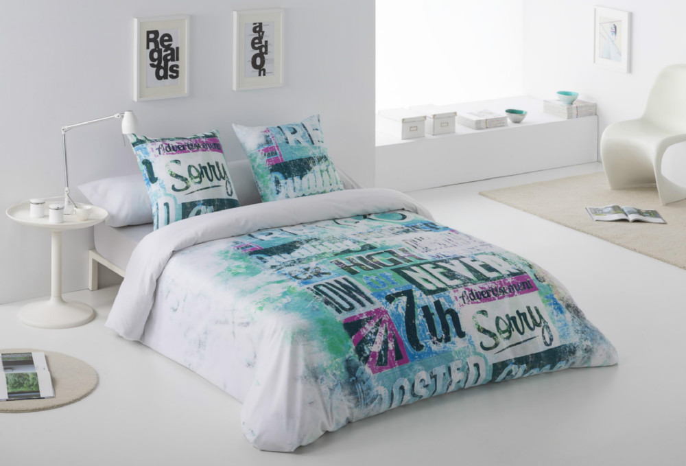 Funda n rdica sorry casaytextil for Habitaciones juveniles nordicas
