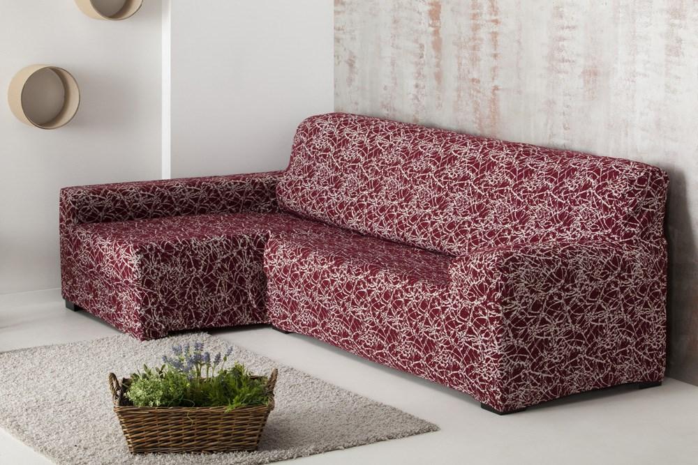 Funda sof chaise longue brazo dcho nica casaytextil - Funda sofa chaise longue ...