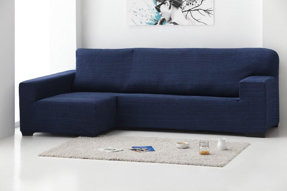 Funda sof chaise longue brazo dcho r stica casaytextil - Funda sofa exterior ...