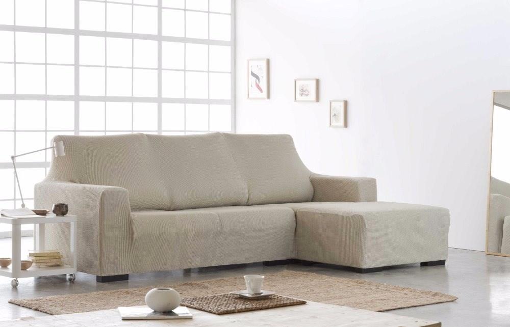 Funda sof chaise longue brazo izq z 51 casaytextil - Fundas para sofas con chaise longue ...