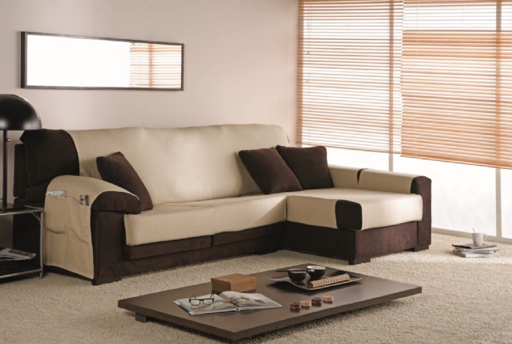 Funda Sofa Chaise Longue Trigo