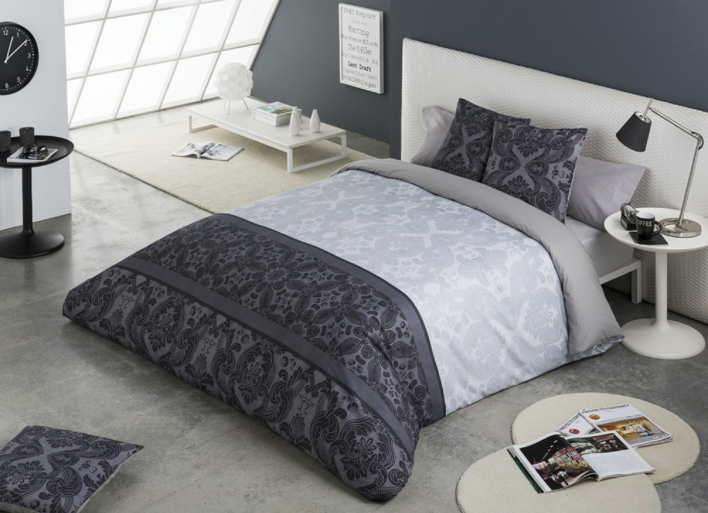 Juego de fundas n rdicas dublin casaytextil for Funda nordica cama 105