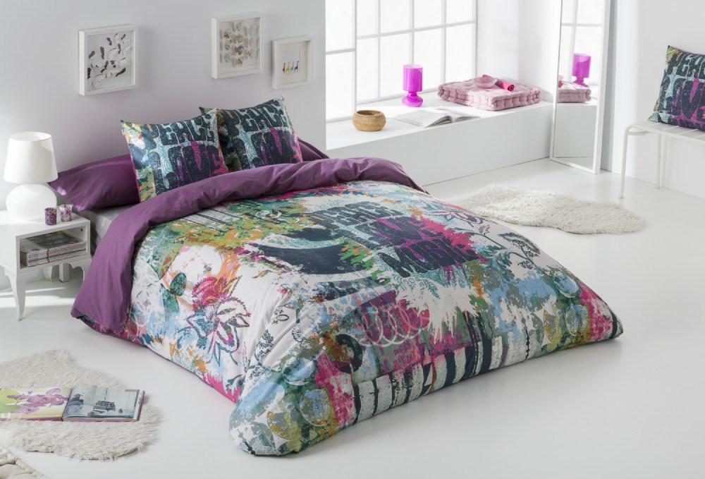 Juego de fundas n rdicas love casaytextil for Silla nordica ikea