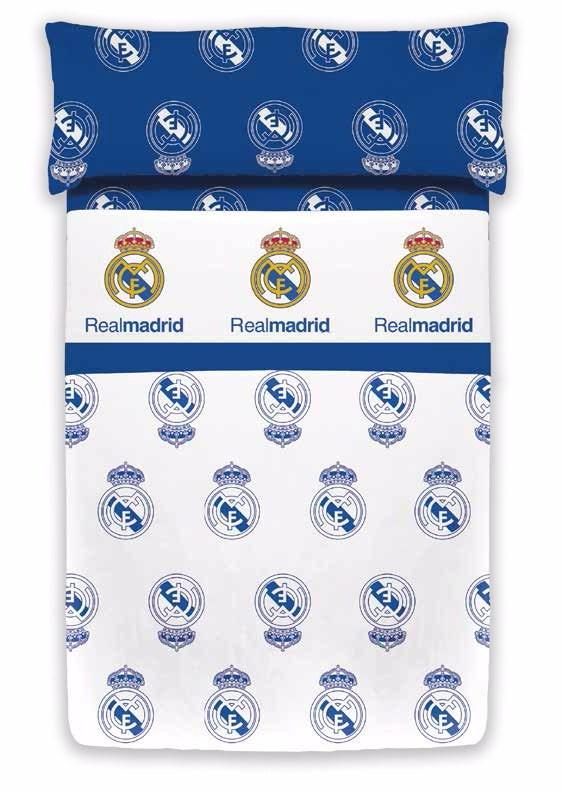 Juego de sábanas Silk Estadio 498 Real Madrid   CasayTextil