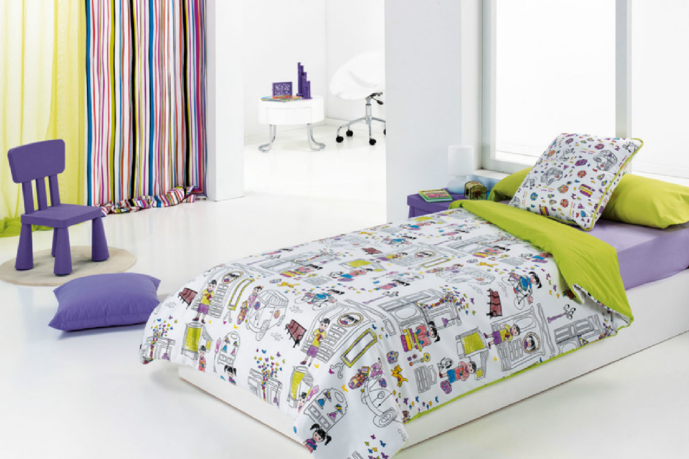 Kids funda n rdica casaytextil for Funda nordica gatos