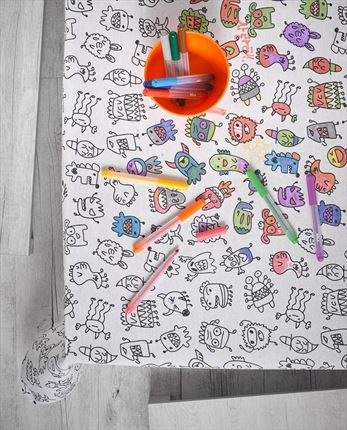 Mantel antimanchas Monsters | CasayTextil