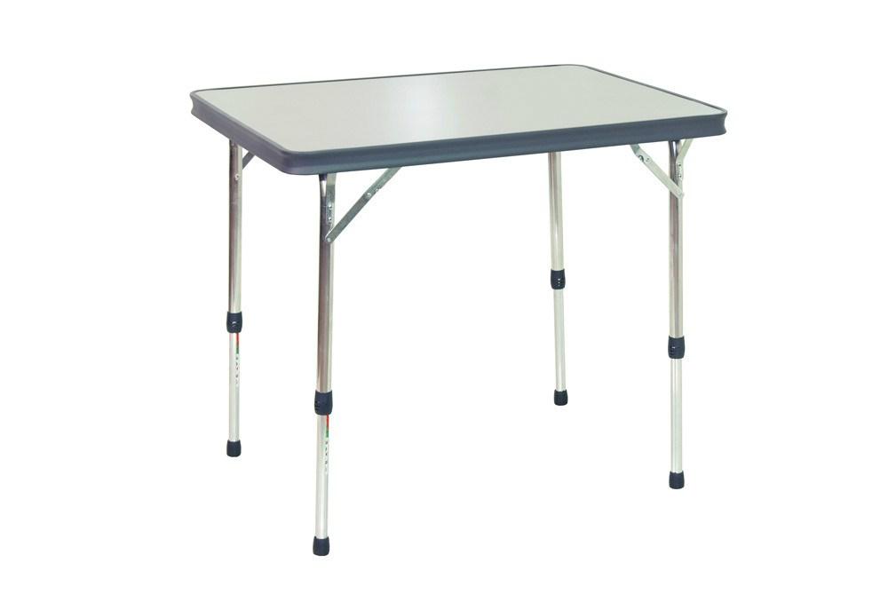 Mesa plegable aluminio camping al 245 g crespo casaytextil for Mesa plegable aluminio