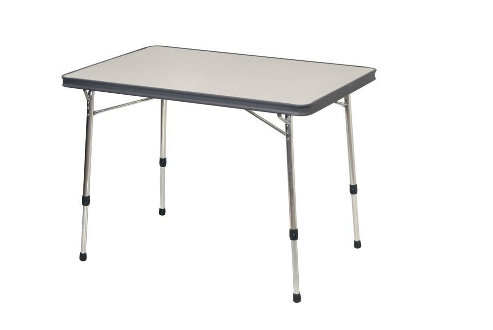 Mesa plegable aluminio camping al 246 g crespo casaytextil - Mesa plegable camping carrefour ...
