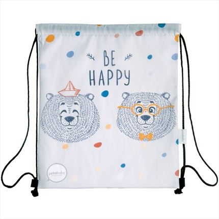 Mochila merienda Be Happy | CasayTextil