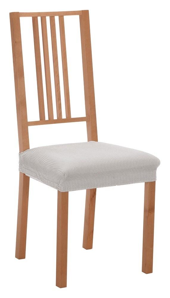 Pack fundas de silla donatela casaytextil for Fundas asiento sillas comedor