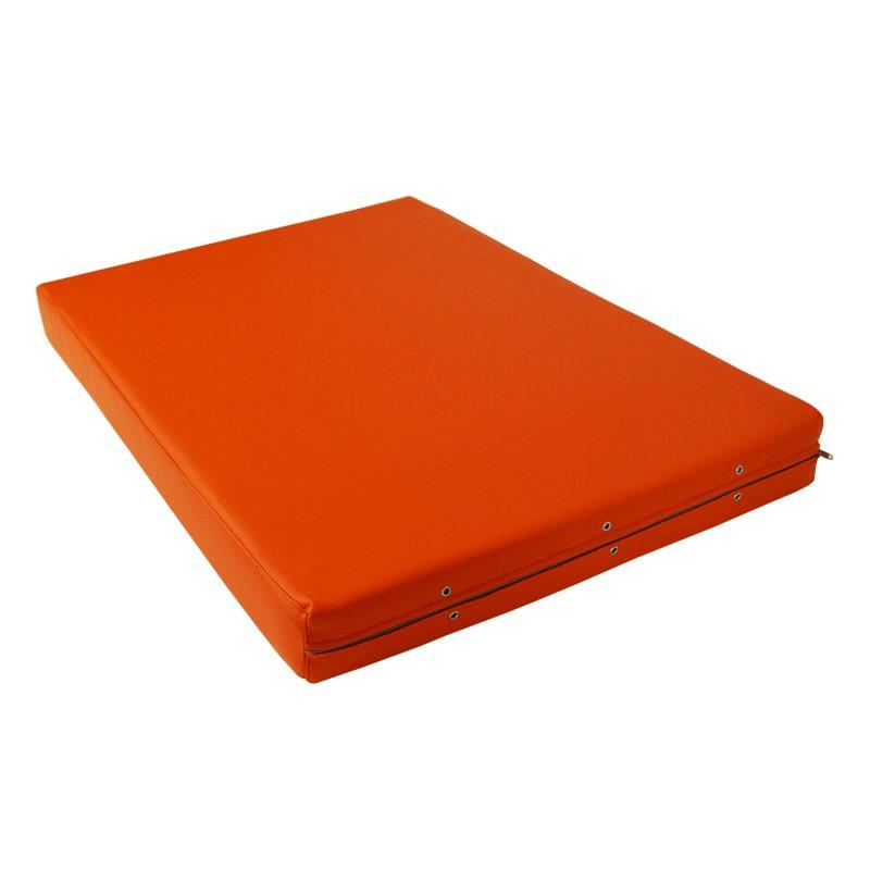 Palet acolchado para exterior casaytextil for Cojin para muebles de jardin en palet