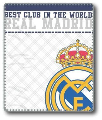Plaid Emblema Real Madrid | CasayTextil