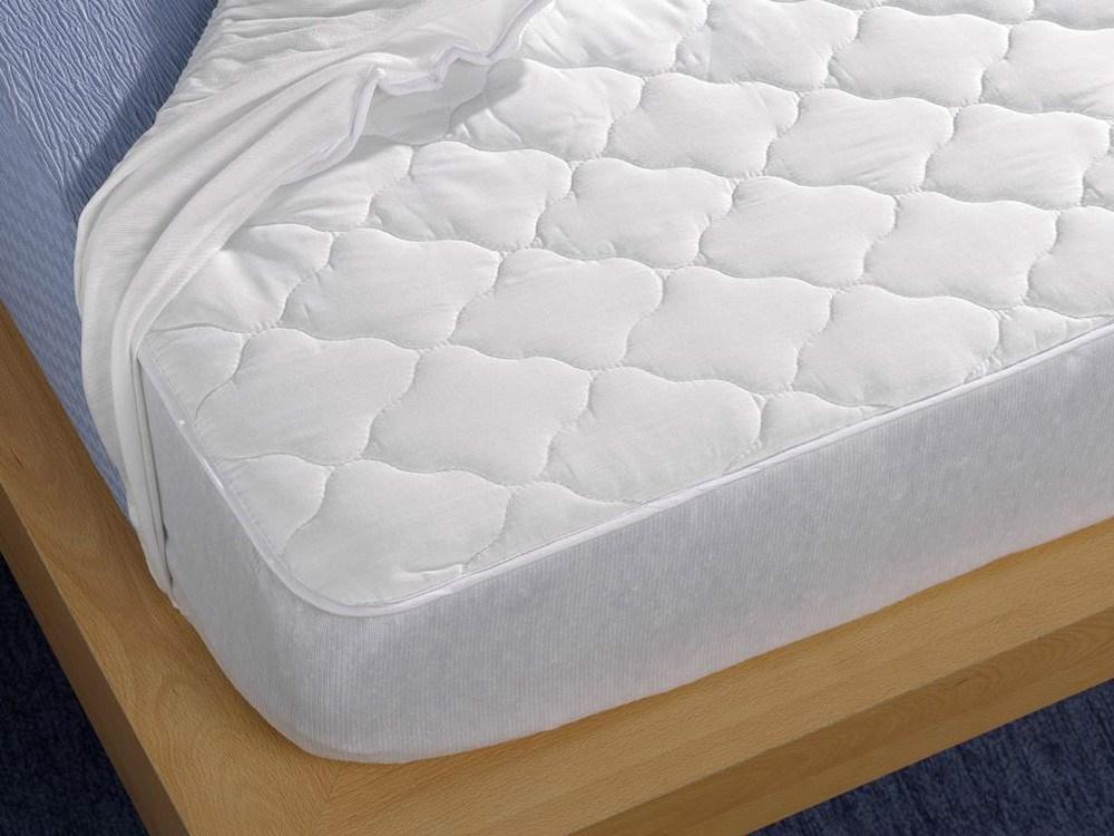 Protector de colch n acolchado de tela impermeable - Protector de colchon impermeable ...