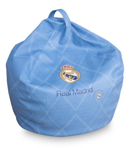 Puf pera Real Madrid Oficial azul junior
