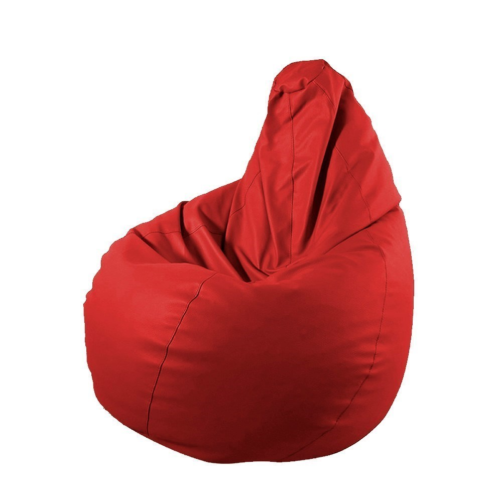 puf pera infantil rojo 1 - Puf Pera