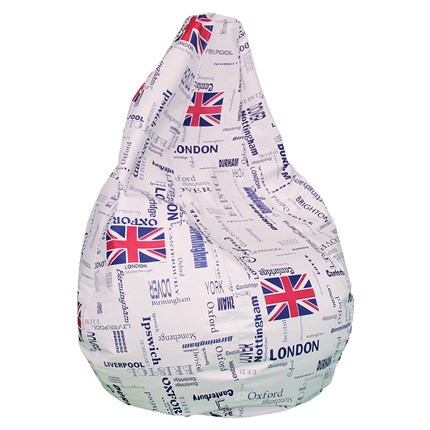 Puf pera XL london | CasayTextil