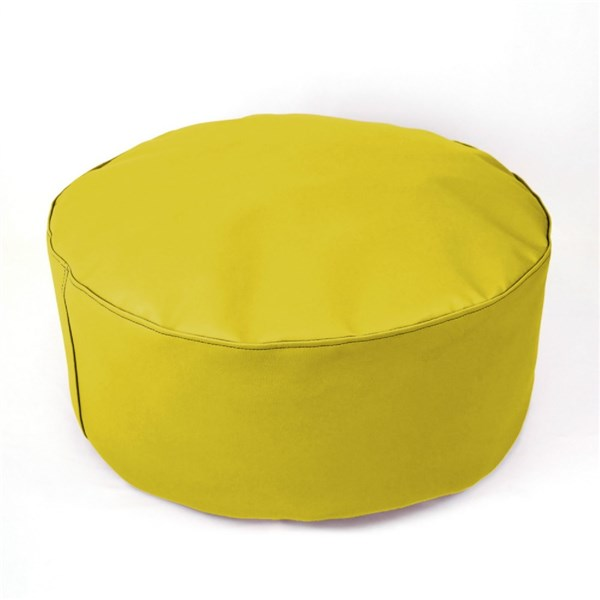 Puf taburete XL Amarillo black friday