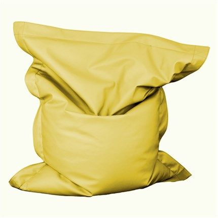 Very Big Puf amarillo | CasayTextil
