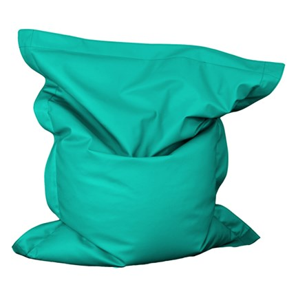 Very Big Puf the big turquesa exterior | CasayTextil