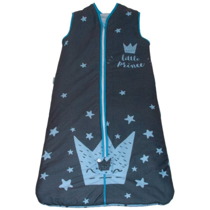 Saco de dormir Little Crown Azul | CasayTextil