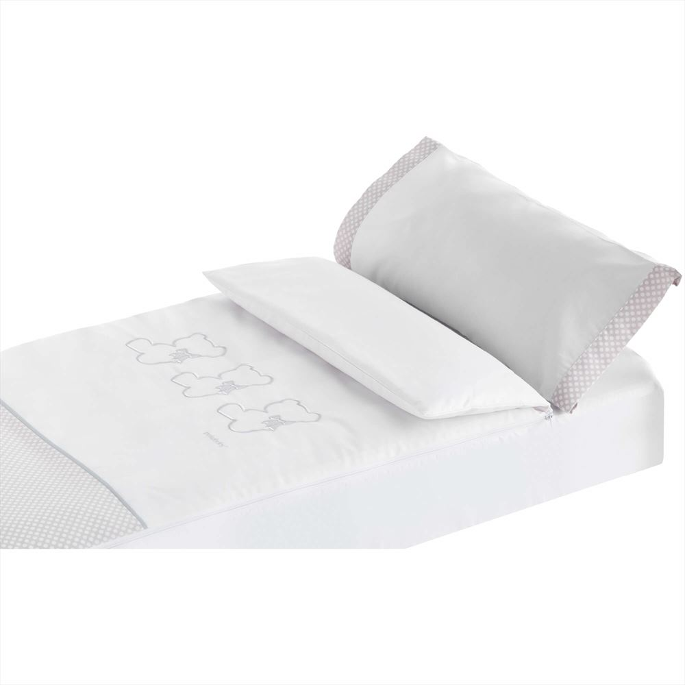 NUITE beige 70x140 cm S/ábanas 100/% Algod/ón maxicuna