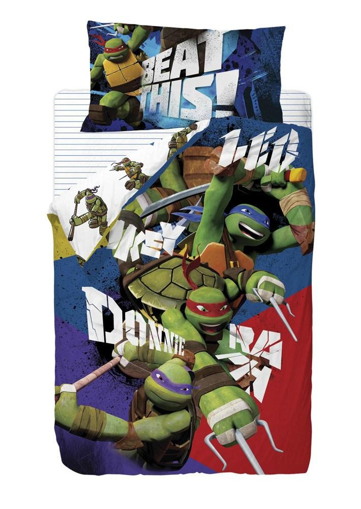 Saco nórdico tortugas ninja bros